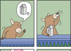 Enlace a Mientras tanto, en el universo alternativo de las vacas...