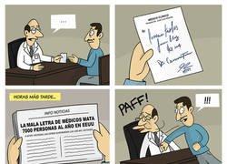Enlace a Negligencia caligráfica