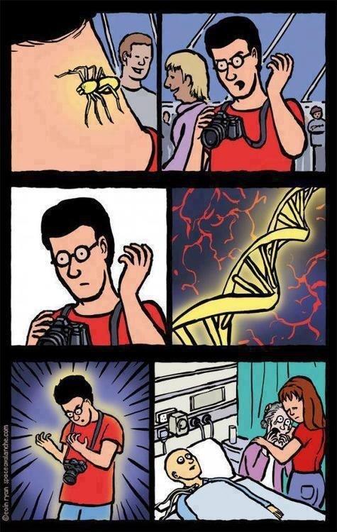 Otros - Si Spiderman fuese como la vida real