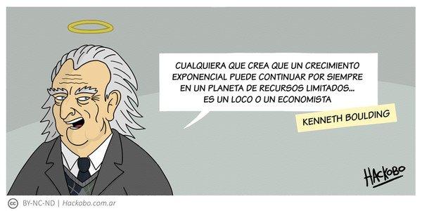 Allthethings - Kenneth Boulding: La locura del economista