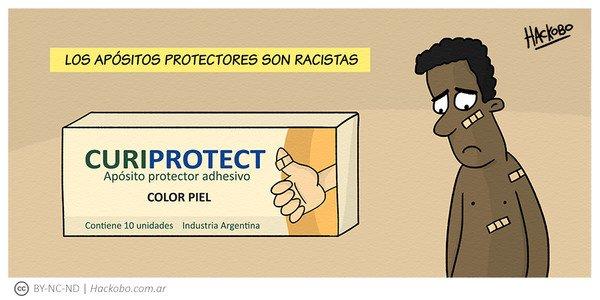 Allthethings - Los apósitos protectores son racistas