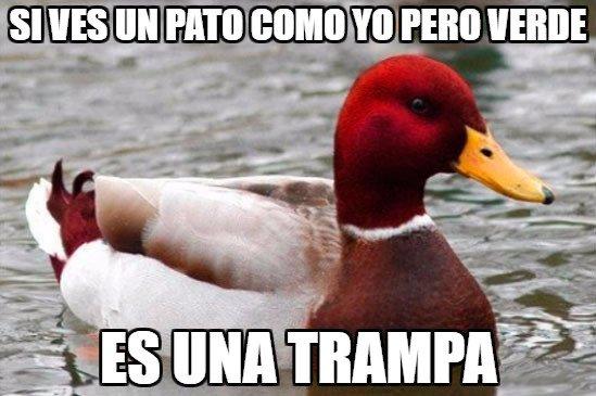 Pato_mal_consejero - Buen consejo