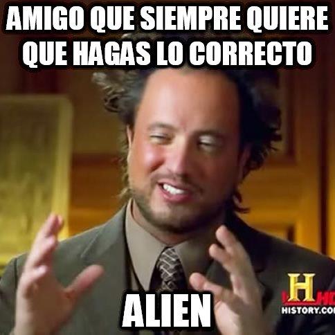 Ancient_aliens - Un amigo un tanto extraño de encontrar