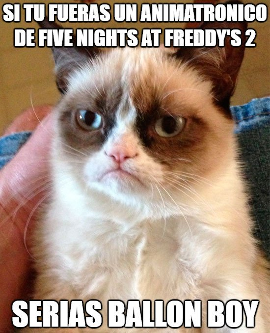 Grumpy_cat - El animatrónico de Five Nights at Freddys