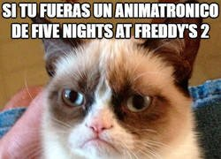 Enlace a El animatrónico de Five Nights at Freddys