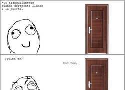 Enlace a El típico amiguito de la puerta