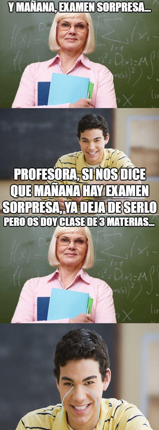 Meme_otros - Nunca te pases de listo/a con un profesor/a, si no te puede pasar esto...