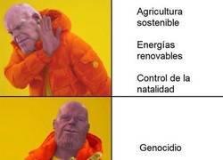 Enlace a Thanos y su visión del universo
