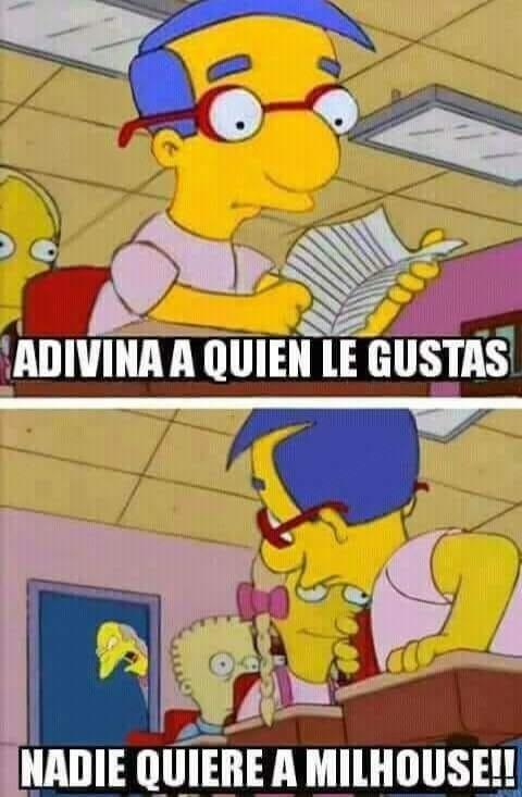 Otros - Nadie quiere a Milhouse