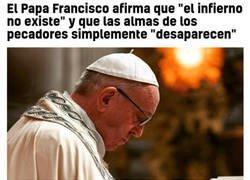 Enlace a El Papa Francisco es Thanos
