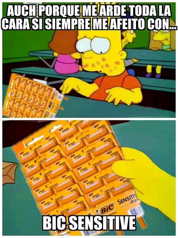 Meme_otros - Esas malditas cuchillas las carga el diablo