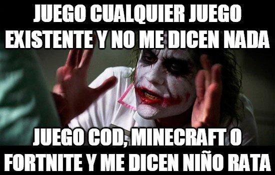 Joker - Gamers... piénselo
