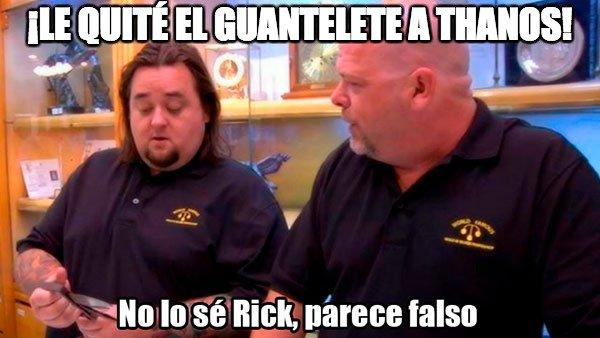 guante,rick,thanos