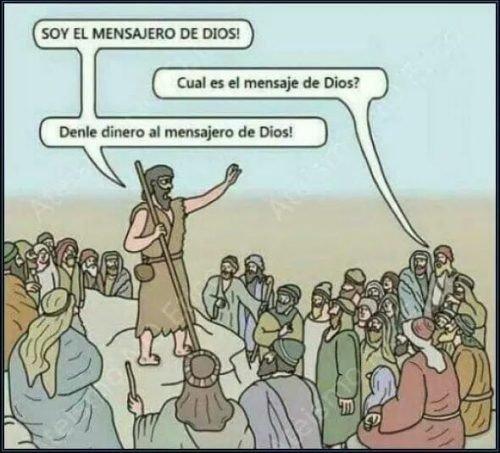 Meme_otros - El mensajero de Dios no era nada tonto