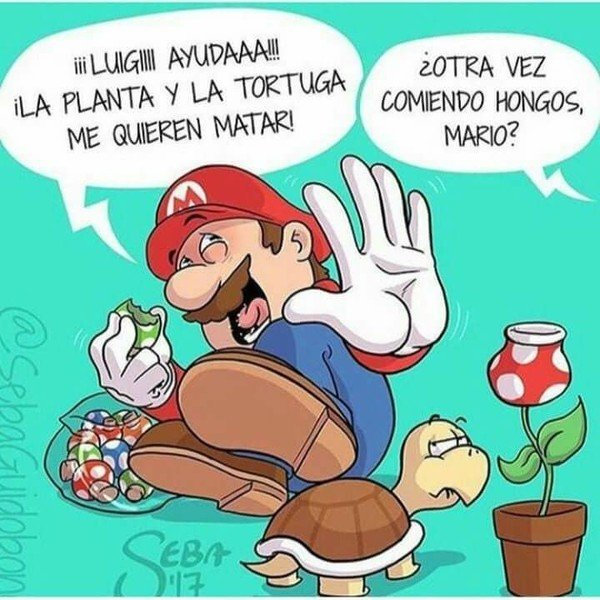 Otros - Mario ve cosas que no son