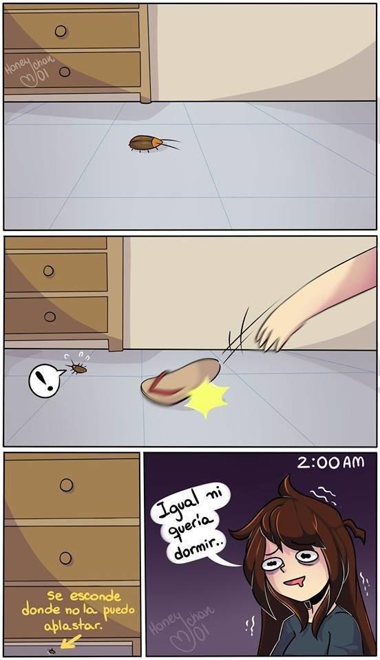 Otros - Malditas cucarachas saben mucho de táctica