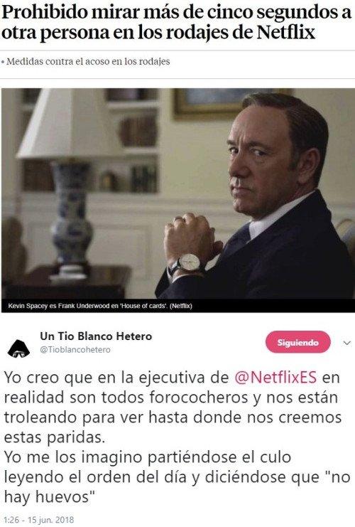 Meme_otros - La solución de Netflix para arreglar el acoso en sus rodajes