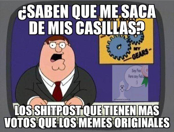 Meme_otros - Algo que es muy molesto de ver en CC