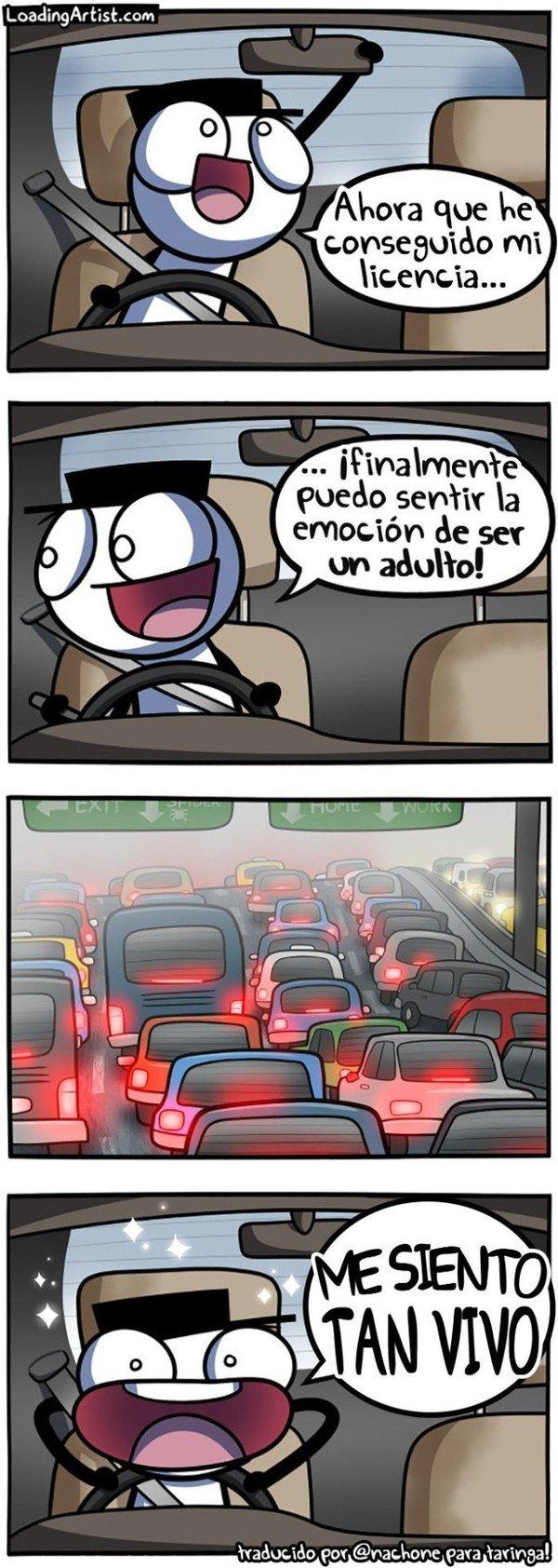 Otros - La ilusión de ir en coche