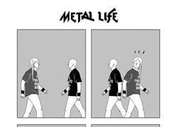 Enlace a El negro impoluto del metalero