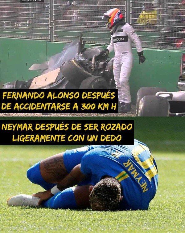 Meme_otros - Neymar es un deportista demasiado especial