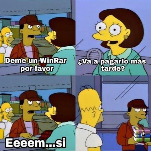 Meme_otros - Todos somos igual con WinRAR
