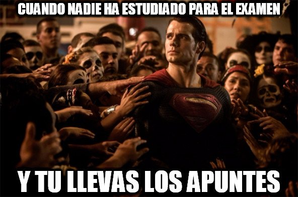 Superman_heroe - Héroe en el examen