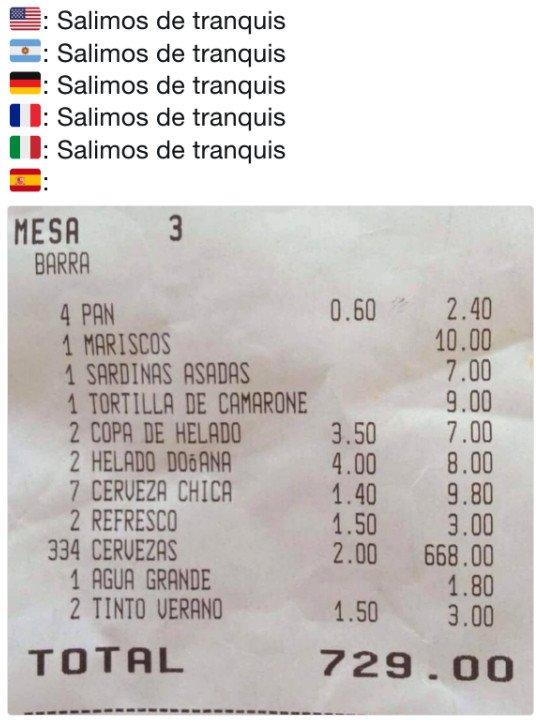 Meme_otros - Los españoles somos muy especiales a la hora de salir