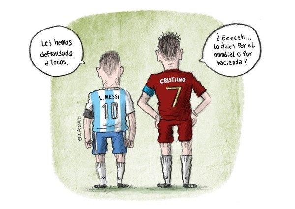 Otros - La vuelta de Messi y Cristiano tras el Mundial