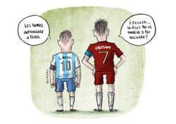 Enlace a La vuelta de Messi y Cristiano tras el Mundial