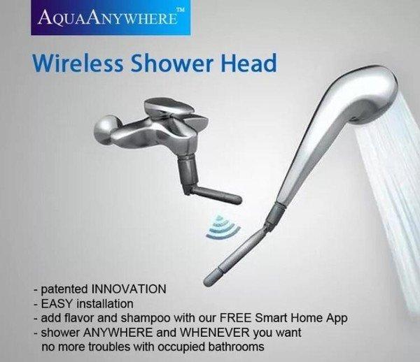 Meme_otros - La alcachofa de la ducha inalámbrica