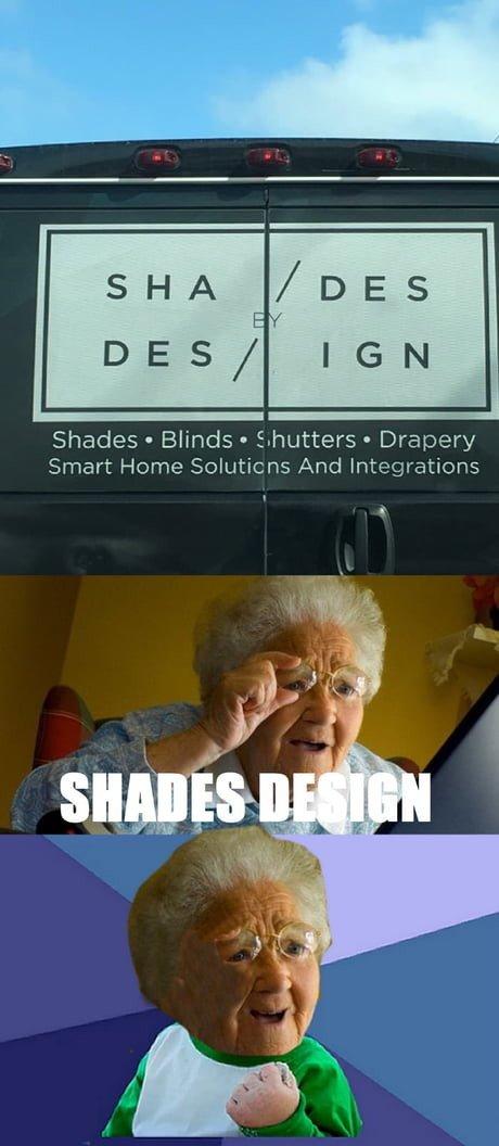 abuela,acierto,cartel,design,shades,sorprendida,win
