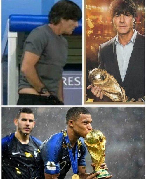 Meme_otros - No me habría gustado besar esa Copa del Mundo con lo que tocó antes