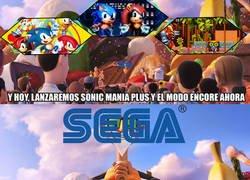 Enlace a La controversia de Sonic Mania Plus