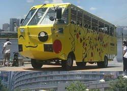 Enlace a El bus de Pokémon ha empezado a operar en Japón. ¡También sirve como transporte acuático!