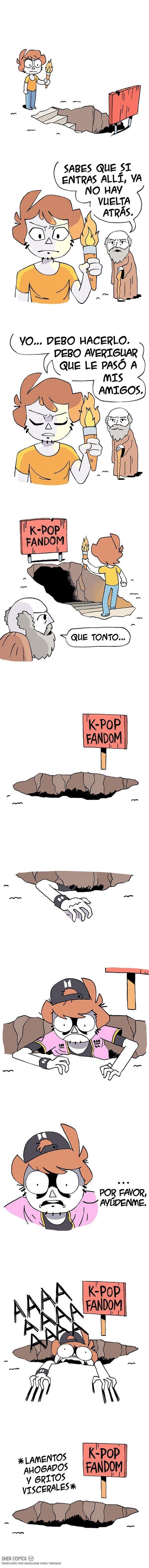 Otros - Una vez entras al fandom de k-pop ya no hay vuelta atrás