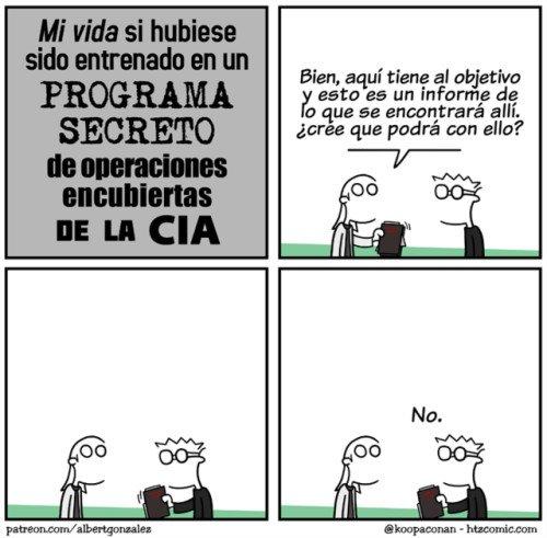 Otros - Ayudando a la CIA, o no