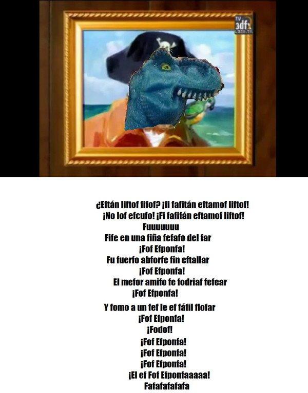 Otros - La canción de Bob Esponja versión finofaurio