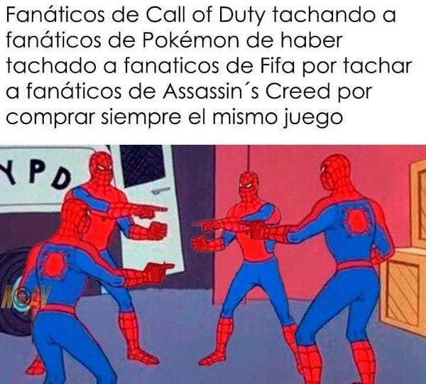 Meme_otros - Fanáticos de videojuegos