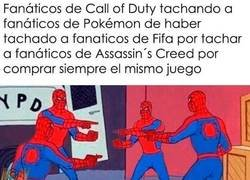 Enlace a Fanáticos de videojuegos