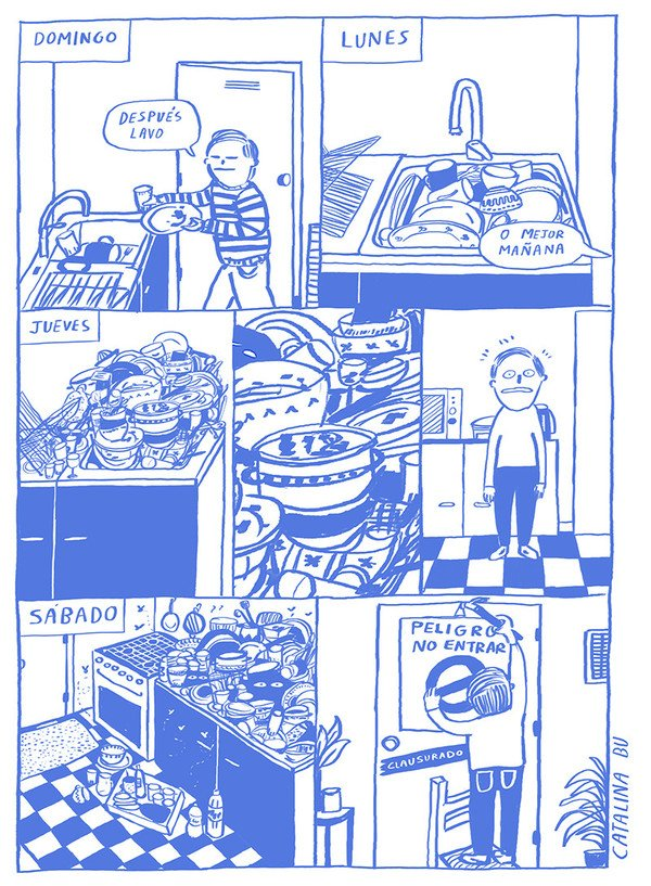 Otros - La difícil tarea de lavar