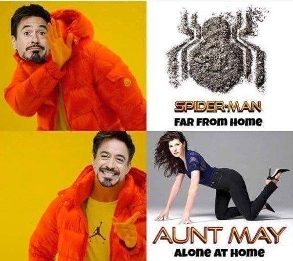 Meme_otros - La película que quiere Tony Stark