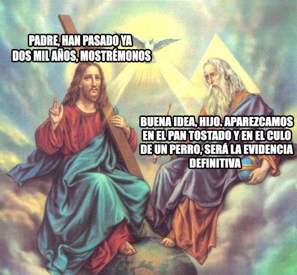 Meme_otros - Nadie comprende las sutilezas de la divinidad
