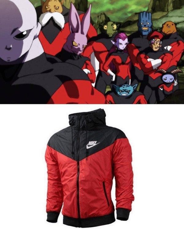 Meme_otros - Nike se ha ganado a todos los fans de Dragon Ball con esta chaqueta