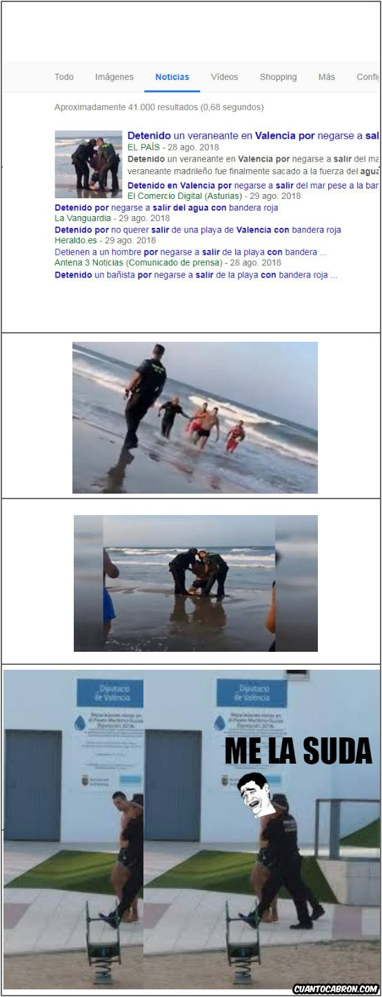 Yao - Se niega a salir del agua