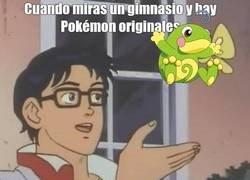 Enlace a Poca originalidad en Pokemon GO