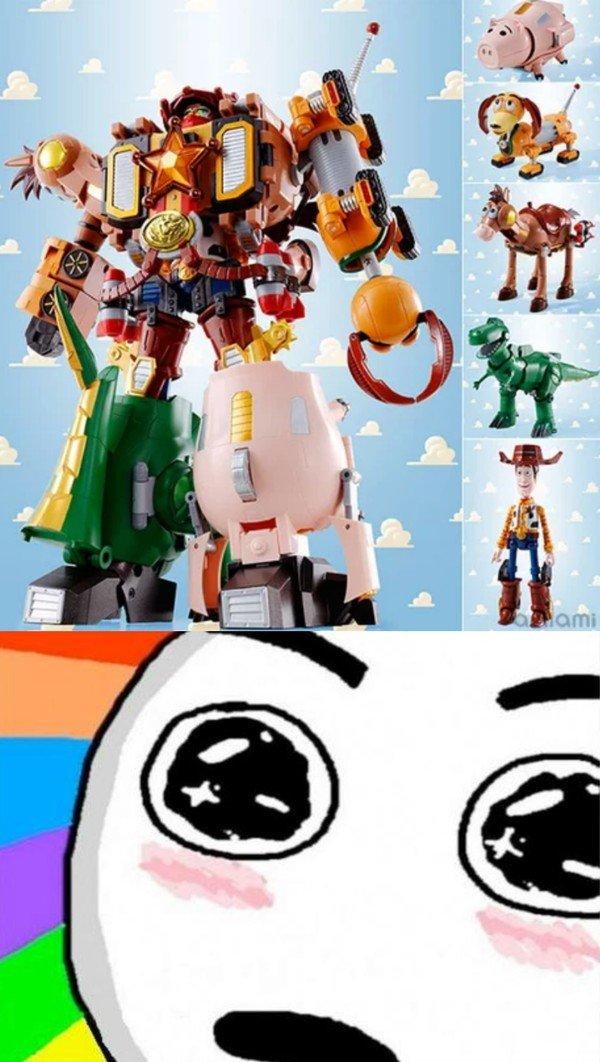 Amazed - Los japoneses han creado un tranformer de Toy Story