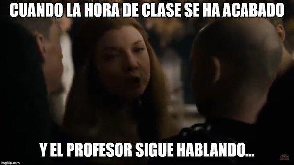 Meme_otros - Esas malditas clases...