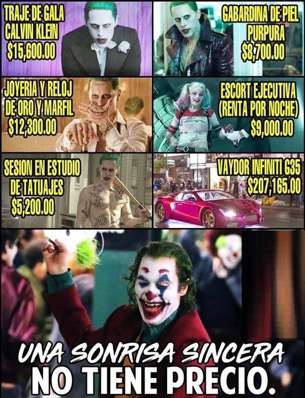 Meme_otros - El Joker que todos deseábamos tener