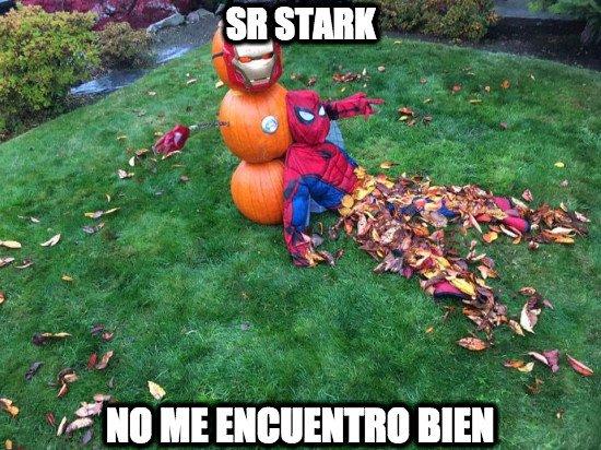Meme_otros - Spiderman lo está pasando realmente mal